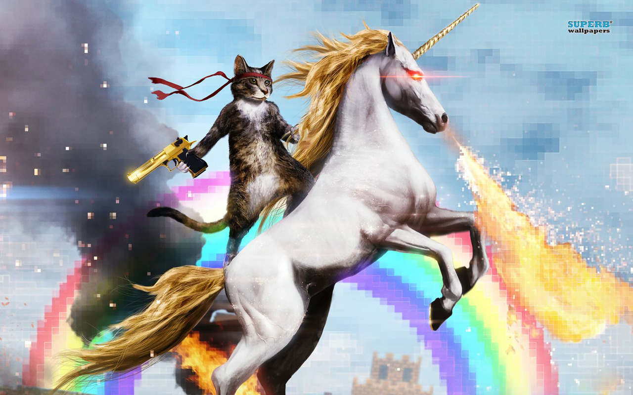 Riding Unicorns Badass mode